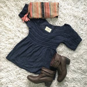 Abercrombie Flowy Sweater Top